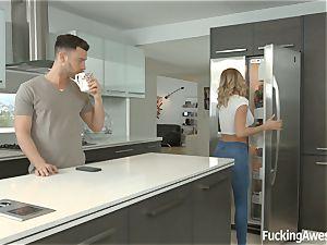 Jessa Rhodes pokes her housemate