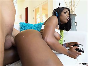 Ana Foxxx plays more than one game