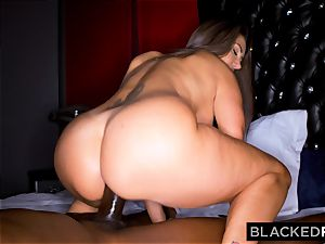 BLACKEDRAW Ava Addams Is plumbing big black cock And Sending images To Her hubby