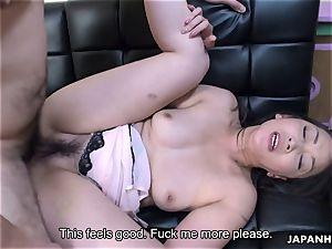 fellate a manhood then getting boinked in her soddening wet hole