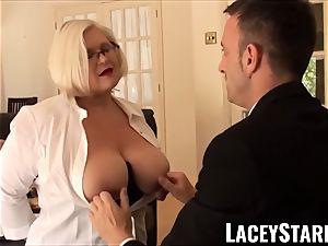 LACEYSTARR - subjugated GILF ass stuffed by Pascal white