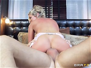 Keiran Lee butt poking Lexi Lowe