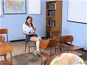 Darling schoolgirl Dillion Harper gets porked by her professor