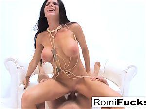 xxx hookup with pornography star Romi Rain
