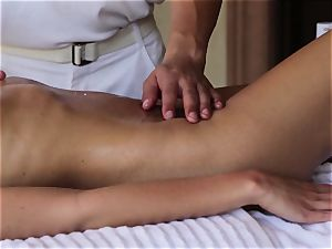 sensational Nina Elle massage and killer extras