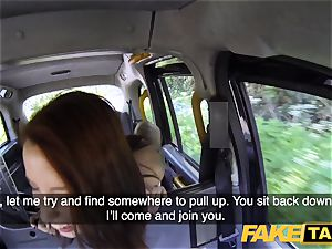 fake taxi Spanish inked sandy-haired bombshell super-naughty