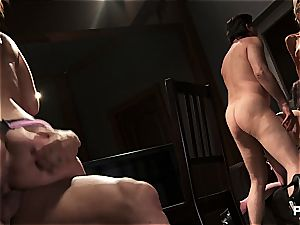 The life of a trained assassin starts with an romp in this Nikita porn parody