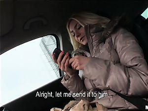 Victoria Puppy gets a strangers fuck-stick deep inside her