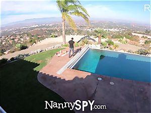 NannySpy childminder Kristen Scott caught wanking