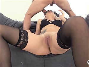 HER limit - ultra-kinky anal invasion pummel with Russian Stasy Rivera