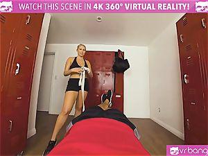 VRBangers.com super-fucking-hot stunner perspiring fuckin' Her Boxing Coach