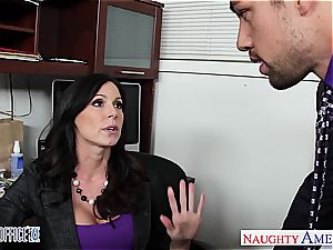 super-naughty Kendra passion works her way up the corporate ladder