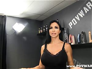 pov Wars clits Jade get a teach ran on her man 1