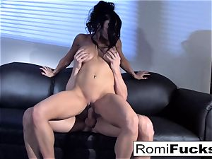 stunning taunt followed by stiff bang-out with Romi Rain