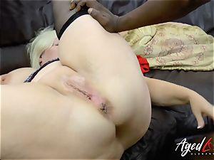 AgedLovE Lacey Starr bi-racial gonzo ass-fuck