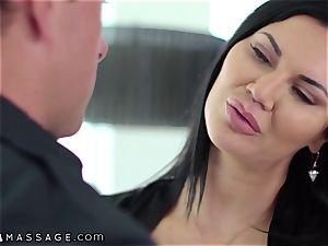 NuruMassage british mummy Jasmine Jae tempts Cop