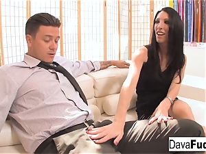 casting couch with Bradley that completes with a internal ejaculation