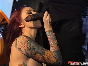 Monique Alexander cunny thrashed nutsack deep then creamed on her face by bbc