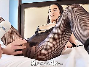 Exotic4k mexican Adrian Hush roped up tear up and creampie