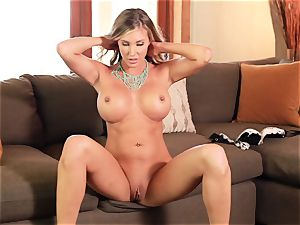snatch messing solo with Samantha Saint