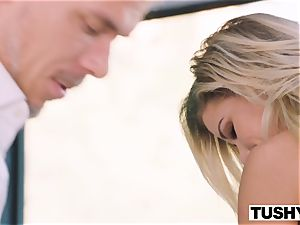 TUSHY Jessa Rhodes hankers 2 sausages In amazing double penetration bang-out