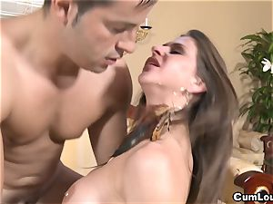 kinky Rachel Roxx gets drilled by a monster knob