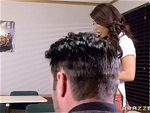huge-titted stunner Angelica Taylor penetrated by her lecturer