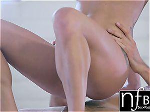 NF chesty - Peta Jensen's shuddering ejaculation screw