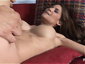 Silicone bitch Ryder will suck for a ride