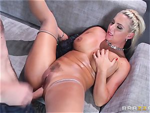 Phoenix Marie gets plumbed in the arse by humungous dicked Danny D