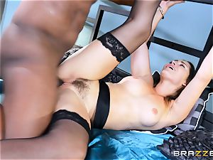 Dani Daniels takes this yam-sized black man meat with relief