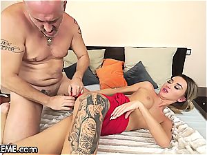 Ballerina Anna Thorne gets a dose of the granddad manmeat