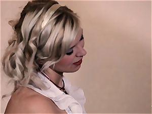 PINUP fuckfest - infatuating Czech platinum-blonde gets pummeled stiff