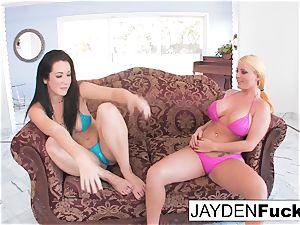 Jayden and Sophie return To ebony penis