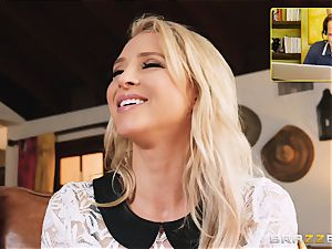 Alix Lynx anal invasion boned by strung up Keiran Lee